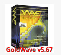 audio convert software - GoldWave ENGLISH sound processing tool to convert audio editing software to record player