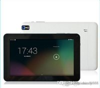 Wholesale A33 Tablet PC quot Tablets Android inch Quad Core GB ROM Capacitive Screen WIFI Dual Camera OTG G SENSOR Bluetooth A31S A23