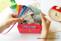 bank bags for coins - Newset style coin Purses Crown wallet bag for card holder bank cards credit cards mobile phone of iphone S S iphone card case