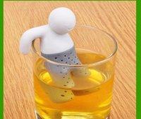 Wholesale 300pcs Mister Tea Infuser MR Tea Silicone Tea Bag Funny Cute Mr Tea Infuser Mr Tea Tea Strainers