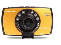 Wholesale Car DVR Camera Novatek Full HD P Video Recorder BlackBox inch LCD G30 G sensor