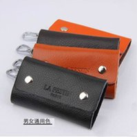 authentic leather bags wholesale - Authentic high grade leather cow leather fashion key bag keys wallets package