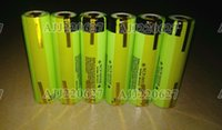 Wholesale 6PCS Original mah Rechargeable battery NCR18650B With Tabs For panasonic