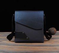 Wholesale leisure business bags for men hot sale Fashion arma Men s single shoulder bag brand leather bags