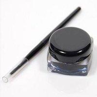 Wholesale Cloud eyeliner makeup long lasting Eyeliner gel instantly with charming eyes brush Black g samples