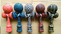kendama - Hot selling Japanese traditional wooden toys kendama skills ball crack jade sword ball cm kendama Beech customize LOGO SF DH