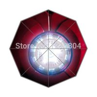 best foldable umbrella - Custom Iron man Best Protect Portable Fashion Foldable Umbrella
