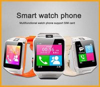 mobile card memory - Hot sale smart watch phone with high capacity memory camera mobile watch sim card and mp3 player montre intelligente