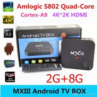 Cheap Quad Core MXIII tv box Best Included 1080P (Full-HD) MX3 Android tv box