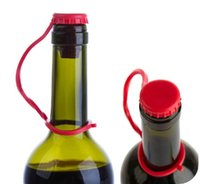wine stopper - Kitchen Silicone Anti lost beer corks hanging Button sealing plug wine stopper seasoning cork stoppers