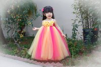 Cheap colorful pageant dress Best rainbow pageant dress