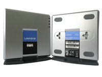 Wholesale Unlocked LINKSYS SPA2102 Voip adpater with Lan port and phone ports SiP internet phone adapter