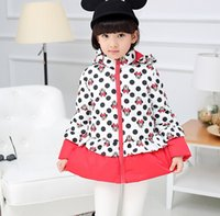 best winter down coat - Children Down Coat For Winter Best Quantity Mickey Pattern Girls Outwear Hooded Clothing For Kids Fit Age SS380