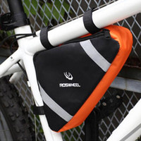 bi bags - icycle Accessories Bicycle Bags Panniers Bag Accessories Cycling Bags Front Tube Frame Triangle Pannier Pouch Mountain Bike Rack Bag Bi