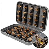 pet fish - 40pcs set Hot Sale Artificial Fishing Lure set with Hook Fly Fishing Lure Hook Pets Lure FHG_204