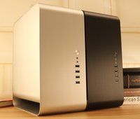 Wholesale New Stock Jonsbo UMX1 PLUS USB3 HTPC ITX desktop computer chassis case Free DHL or EMS