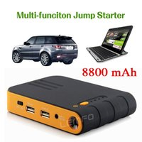 Wholesale Lemfo AUTO EPS JS B001 mAh Multi Function Jump Starter Car Emergency Power Bank Backup Battery Charger FOR Laptop Cell Phone