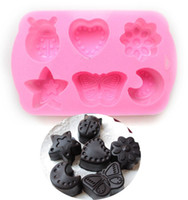 bee kitchen decor - Butterfly chocolate soap mold Heart silicone cake mold Bee candy dessert decor kitchen cooking tools bakeware