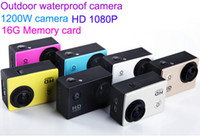 arm color lcd - new Outdoor sports waterproof camera MP P HD Car DVR G memory card H Inch LCD fps color
