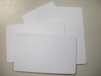 Wholesale CR80 size plastic PVC card blank card available with thermal printer from China