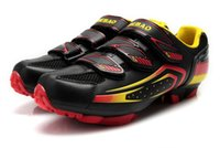 auto race shoes - TIEBAO Men s MTB Cycling Shoes Athletic Bicycle Sports Shoes Auto lock Mountain Bike Racing Shoes