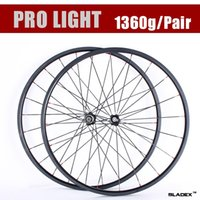 Wholesale Depth mm Road Bike Wheelset Front carbon wheels Width mm Carbon Bicycle Wheels Free shopping