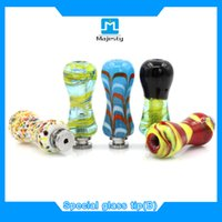 best stock tips - Beautiful special glass drip tips new drip tips for e cigs colorful ecig glass drip tips best selling in stock