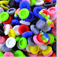 Wholesale Anti slip Silicone Protective Cap Mushroom caps Thumb Stick Grips joystick key cases covers for PS4 PS3 XBOX ONE XBOX Controller