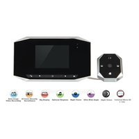 Wholesale For Inch High Definition Digital Peephole Viewer with Human infrared sensor function