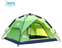 Wholesale 3 automatic outdoor tent camping tent camping double than double the anti rain