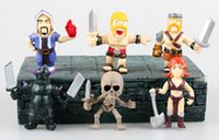 Wholesale Nicky s Gift Clash of Clans COC Wizard Wall Breaker etc PVC Action Mini Figures