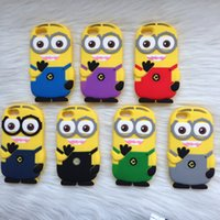 big lots iphone cases - 200 D Despicable Me Cartoon Soft Silicone Gel Rubber Case Cover Smile Big Eye for iphone s s iphone plus