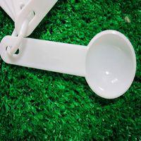 Wholesale Hot Measuring Spoon set ml Food Thickening Of Coffee Milk Tea Fruit Powder White Measuring Spoons