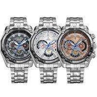 Cheap Relogio Masculino 3 Dials 3ATM Water Resistant Wristwatches Original Japan Movement Military Sports Quartz Watch WH1011