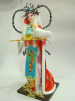 oriental statues - Oriental Broider Doll Chinese Old style figurine China doll girl statue