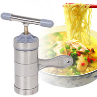 Wholesale Vegetable Noodle Cutter Stainless Steel Pasta Noodle Maker Machine Manual Fruit Juicer Noodle Maker Machine