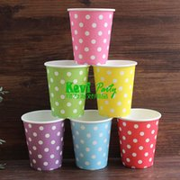 Wholesale Disposable Paper Cups Dinnerware Wedding Party Supplies Home Decoration PC