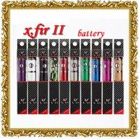 Cheap 2015 Vision Spinner 2 Upgraded Original ECT X.Fir II Electronic Cigarette X.Fir Battery 1600mah 510 Thread Patented Vaporizer DHL