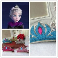 u can choose as photo Character Frozen Hairpins Tiara Crown Hair Sticks Clips Barrettes for children Christmas gift Hair pin Barrettes Hair jewelry