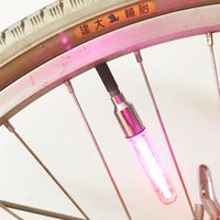 action led bike lights - MJJC Rainbow Colorful Flash LED Bike Wheel Lights leds Color Chaning in Night and Action Pattern