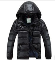 Wholesale Fall French brand cultivate one s morality man with thick white duck down down jacket