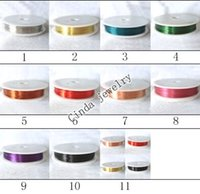 Cord & Wire all  100Rolls lot Copper Wire For DIY Craft Jewelry WI2 Free Shipping By DHL