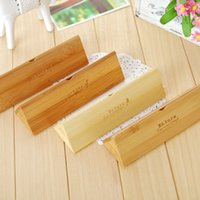 Metal   Free Shipping New creative wooden Pencil case   Pen box   Fashion   Wholesale
