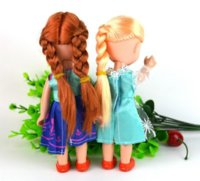 Wholesale olls Accessories Dolls Snow Queen Young Toddler Elsa and Anna Sisters Princess In Childhood Dolls Figure Toys Bonecas Figure Toy