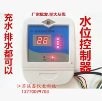 Wholesale Intelligent digital automatic pump liquid level controller solar water tank tower Sheung Shui switch display