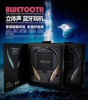 Wholesale 2015 New HBS HBS Wireless Sport Neckband hbs headphones Hard Cover In ear Headphone Bluetooth Stereo Earphones Bluetooth Headphone