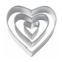 Wholesale FS Hot niceEshop TM Heart Cut Outs Heart Cookie Cutters Set of order lt no track
