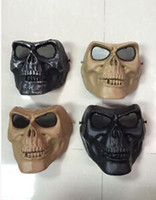 airsoft guns protection - m02 skull mask cs protection Paintball Airsoft Gun Masks Halloween horror masks A94 full face TY936