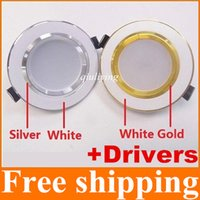 Wholesale CE ROHS UL SAA Led Recessed Downlight Lamp Angle W W W W W Led Ceiling Down Light V Warm Cool White