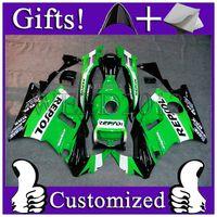 Wholesale ABS Fairing for Honda CBR600 F2 green black REPSOL Fairing CBR600F2